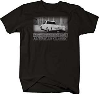 Retro American Classic Muscle Car C10 196772 Hotrod Muscle T Shirt for Men