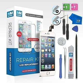 MMOBIEL Pantalla táctil LCD Compatible con iPhone 5S (Blanco) Kit Profesional de reparación Incluye Sencillo Manual