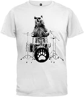 Animal World Bear Drummer Youth T-Shirt