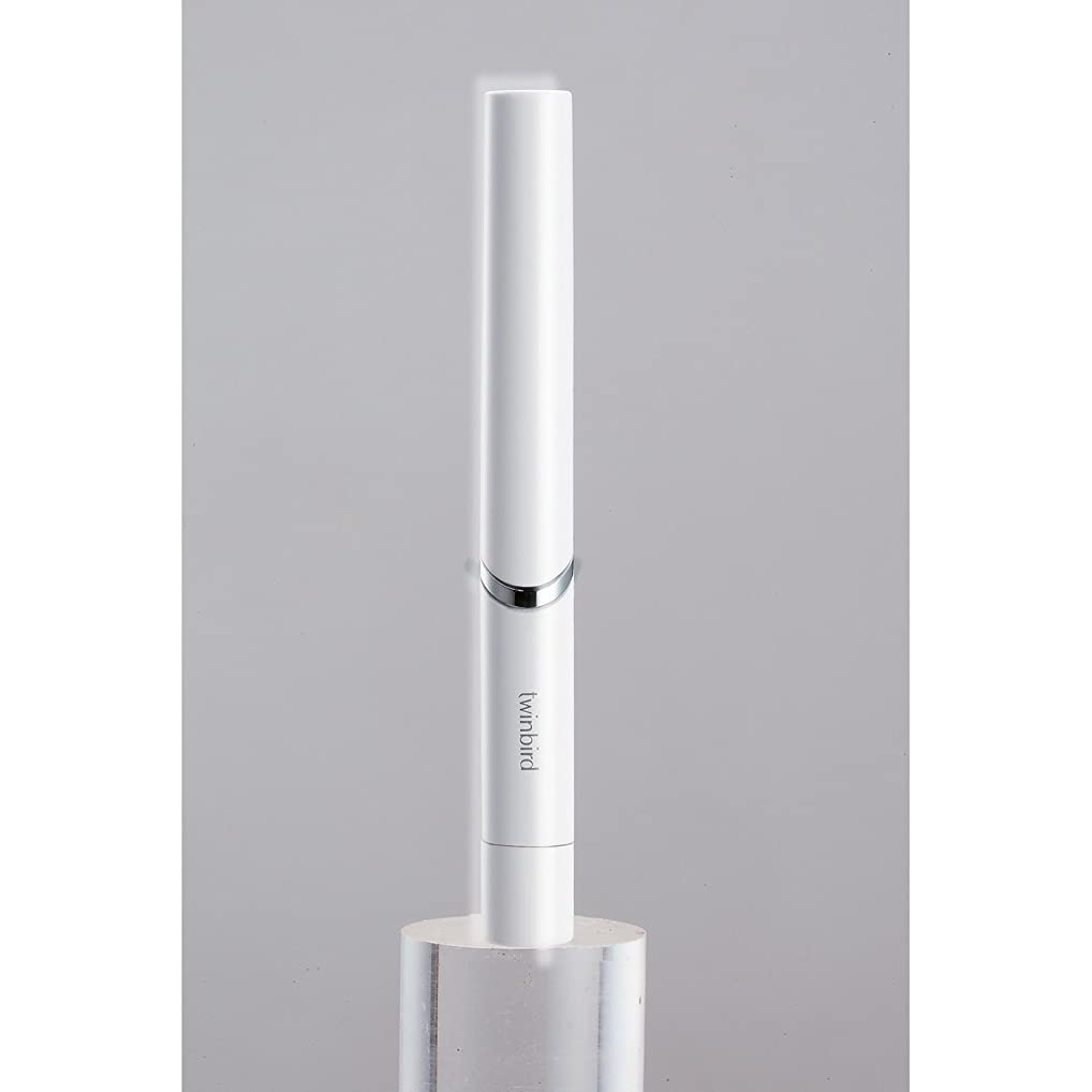 メキシコ潮到着するツインバード 音波振動式歯ブラシ BD-2741 ホワイト?BD-2741W
