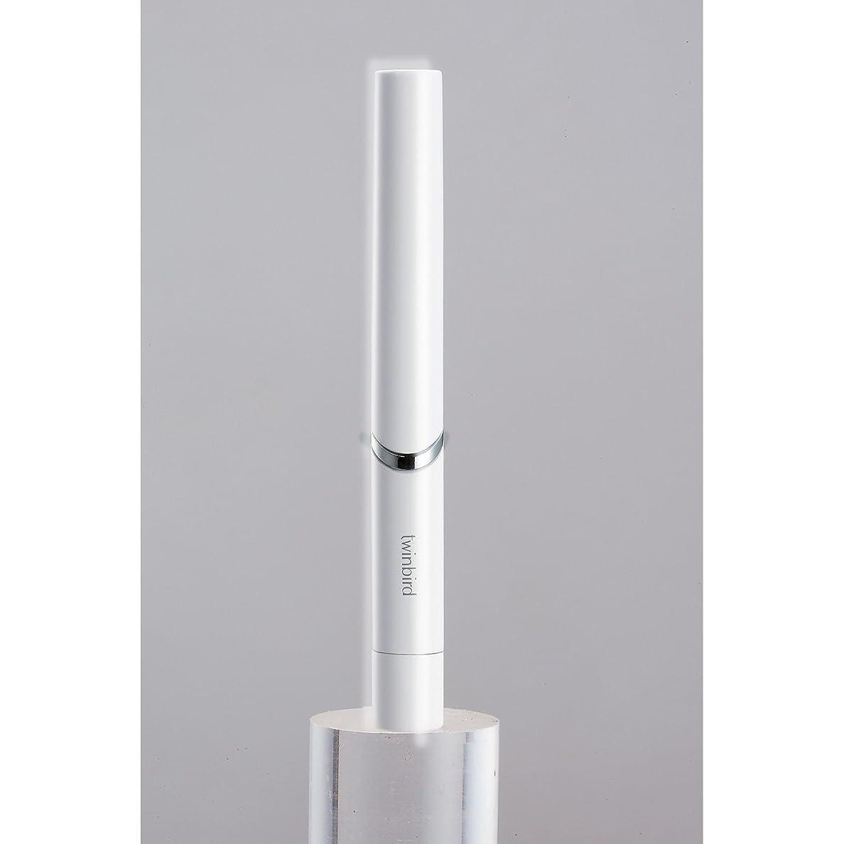 風邪をひくピーク上にツインバード 音波振動式歯ブラシ BD-2741 ホワイト?BD-2741W