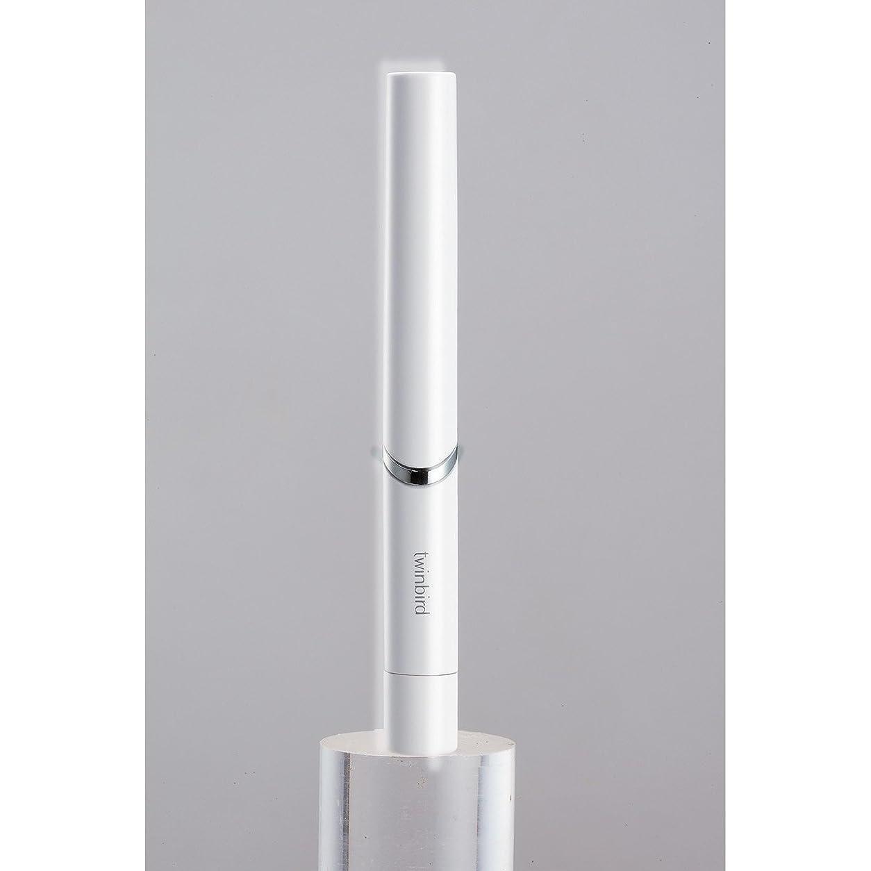 ドロップコミュニティ振るうツインバード 音波振動式歯ブラシ BD-2741 ホワイト?BD-2741W