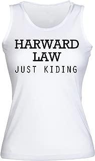 IDcommerce Harward Law Just Kidding Women's Tank Top Shirt