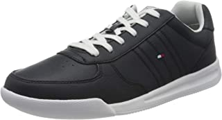 Tommy Hilfiger Lightweight Leather Sneaker, Sneakers Basses Homme