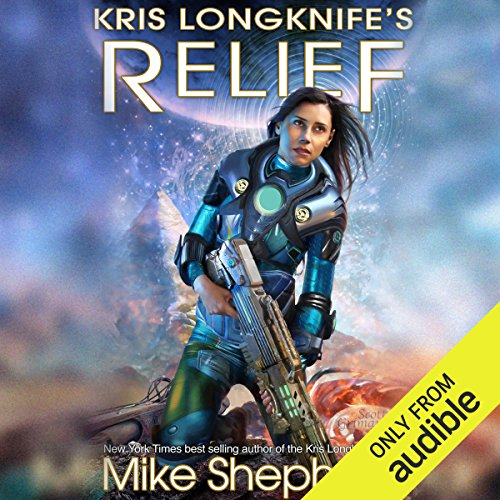 Kris Longknife's Relief     Admiral Santiago, Book 2              By:                                                                                                                                 Mike Shepherd                               Narrated by:                                                                                                                                 Vanessa Chambers                      Length: 7 hrs and 50 mins     143 ratings     Overall 4.6