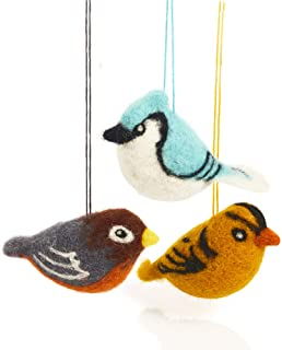 Best felted wool animal ornaments Reviews