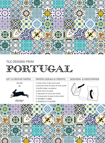 Tile Designs from Portugal: Gift & Creative Paper Book Vol. 56 (Gift & creative papers (56))