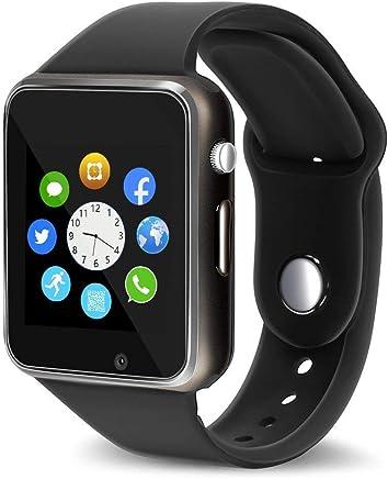 76197478228eed Smart Watch - Aeifond Touch Screen Sport Smart Wrist Watch Bluetooth  Smartwatch Fitness Tracker Camera Pedometer