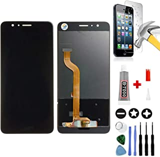 Mobilevie Pantalla Táctil + Pantalla LCD Original Montaje de Préstamo para Huawei Honor 8 Negro + Herramientas