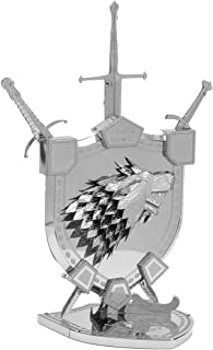 Fascinations Metal Earth ICONX Game of Thrones House Stark Sigil 3D Metal Model Kit