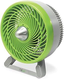 Honeywell Chillout - Ventilador Silencioso Portatil de Mesa, 31 W, Color Verde