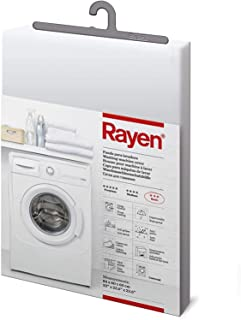 Rayen | Funda para lavadora basic | Funda lavadora de carga frontal | Cubierta impermeable para lavadorasecadora | Cierre...