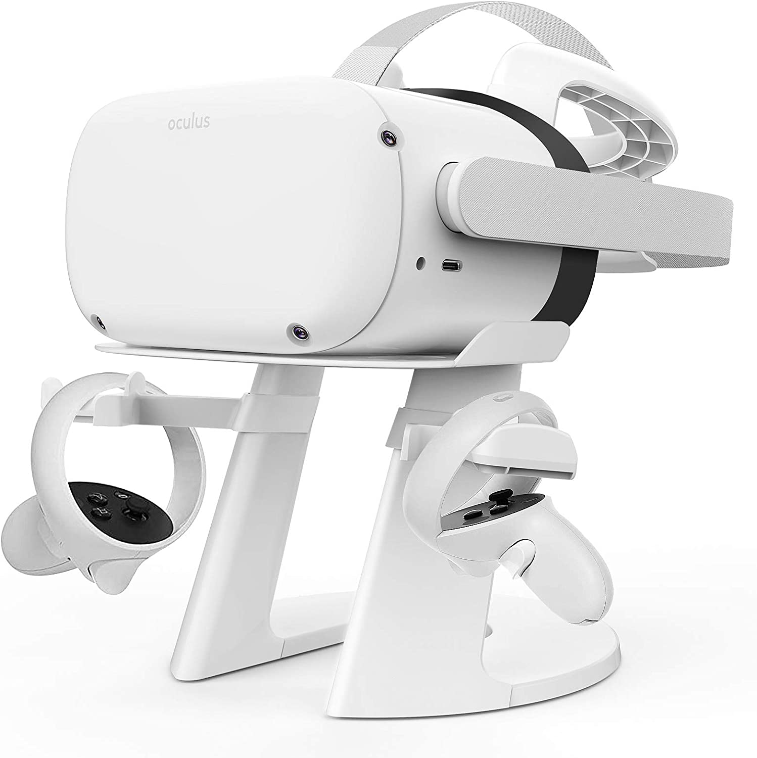 Delamu VR Stand Compatible with High Cheap sale material Oculus Headse Quest 2