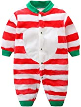 Guy Eugendssg Newborn Baby Winter Clothes Infant Baby Girls Soft Fleece Outwear Rompers-12M Boy Jumpsuit