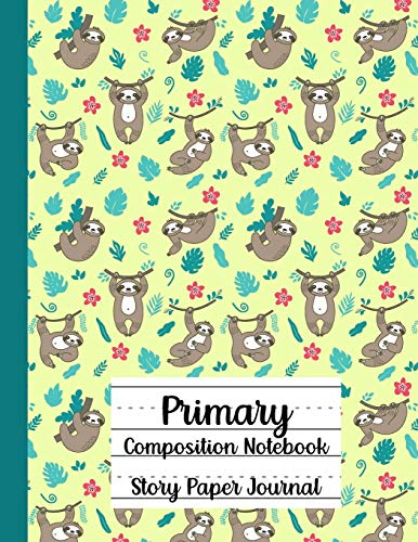 Primary Composition Notebook,Story Paper Journal