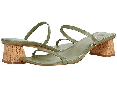 Marc Fisher LTD Brent (Medium Green Leather) Women