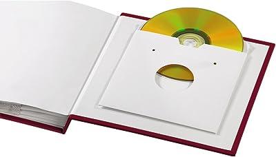 """Hama """"La Fleur Memo Album álbum de Foto y Protector Rojo - Álbum de fotografía (Rojo, 60 Hojas, 175 mm, 170 mm)"""