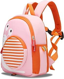 Cartoon Cute Children's School Bag Toddler Kids Backpack Rucksack for Boys/Girls Kindergarten Backpack Safety Anti-Lost Strap Rucksack with Reins Breathable and Burden-Reducing Children's School Bag