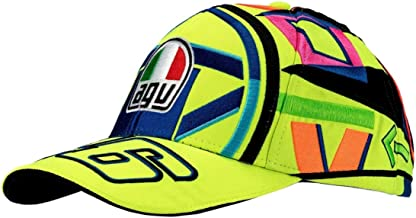 VR46 Valentino Rossi Helmet Yellow Cap Adult Hat One Size Official Merchandise