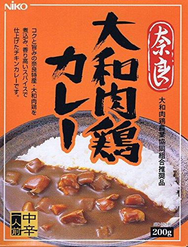 奈良 大和 肉鶏カレー4個セット 【ご当地カレー】
