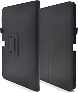 PLATA ASUS TransBook Mini T102HA ケース 手帳型 レザー スタンド カバー エイスース トランスブック ミニ 【 ブラック 黒 black 】 TC-T102-70BK