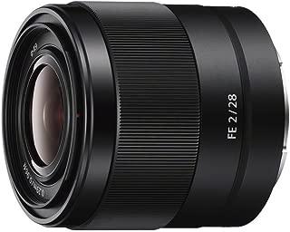 Sony SEL28F20 FE 28mm f/2-22 Standard-Prime Lens for Mirrorless Cameras