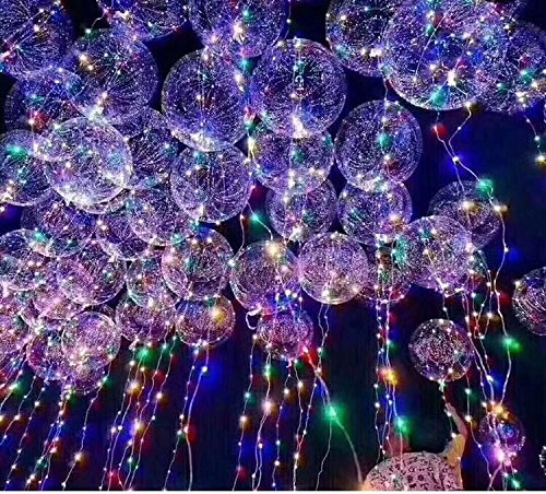 Toyland® 18 LED Light Up Party Globo - Latest Craze - Globos únicos de la fiesta - Perfect Party Decoration (1 Paquete)