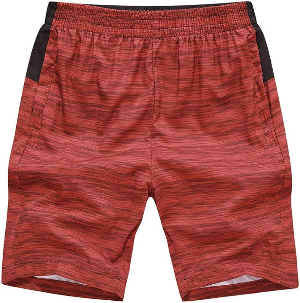 Men Shorts Pants Summer Fashion Printing Casual Loose Pocket Sports Beach