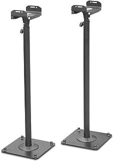 DRALL INSTRUMENTS 2 x Haut-Parleur Signifie Enceinte métallique Support Haut-Parleur boîte Hauteur réglable Support Modèl...