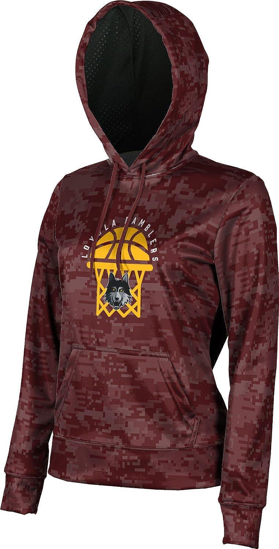 ProSphere Loyola University Chicago Basketball Girls' Pullover Hoodie, School Spirit Sweatshirt (Digital)