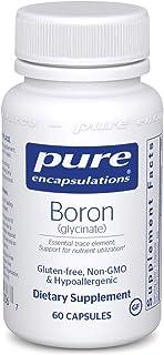 Pure Encapsulations Boron (Glycinate) | Supplement for Hormone Balance, Bone Strength and Health, Connectiv...