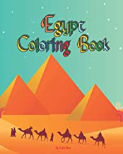 Egypt Coloring Book: Gods of Ancient Egypt, Fun Ancient History Activity Coloring Book For Kids And Adult (Kids Coloring Books)