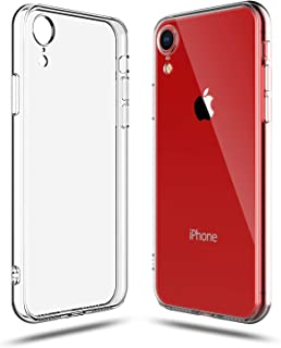 SHAMO'S Case for iPhone XR Clear Shock Absorption TPU Gel Transparent Soft Cover (Clear)
