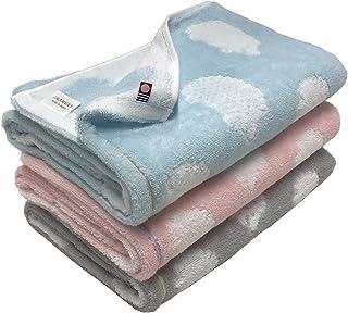 今治タオル ブランド認定 ハリネズミ柄 バスタオル 3枚組 60x120cm (3色組)