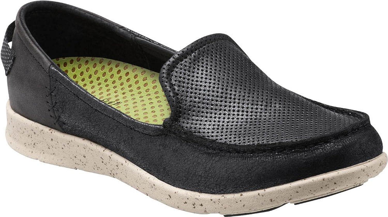 Superfeet Fir Women's Casual Comfort shoes, Black, Full Grain Leather, Women's 7.5 US