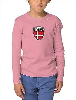 Denmark - Country Soccer Crest Infant/Toddler Cotton Jersey T-Shirt