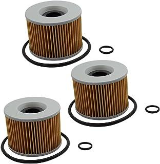 cyleto Ölfilter für GL1000 Goldwing 1000 1975 1980/GL1100 Goldwing 1100 1980 1985 (Pack von 3)