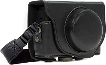 MegaGear Ever Ready Leather Camera Case Compatible with Sony Cyber-Shot DSC-WX500