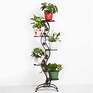 Flower stand Flower Stand, Spiral Staircase, Multilayer Flower Stand/Plant Stand, Metal Iron Frame, Stable Plant Stand, Su...