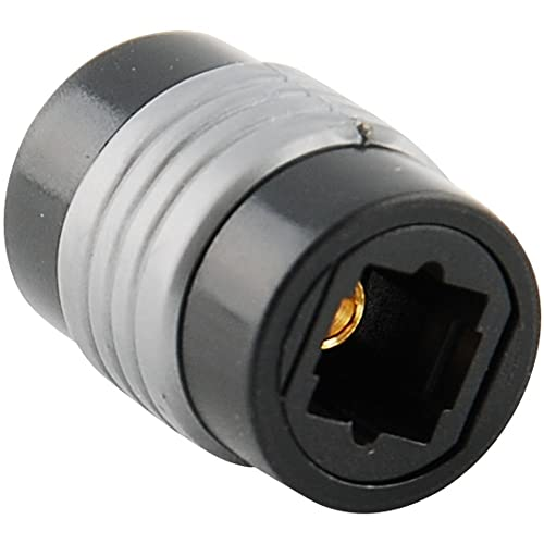 2 Packs Optical Toslink Female to Female Extension Adapter Coupler