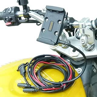 13mm Support pour Guidon de Moto Compatible avec Garmin Zumo 400-500-550-595-660