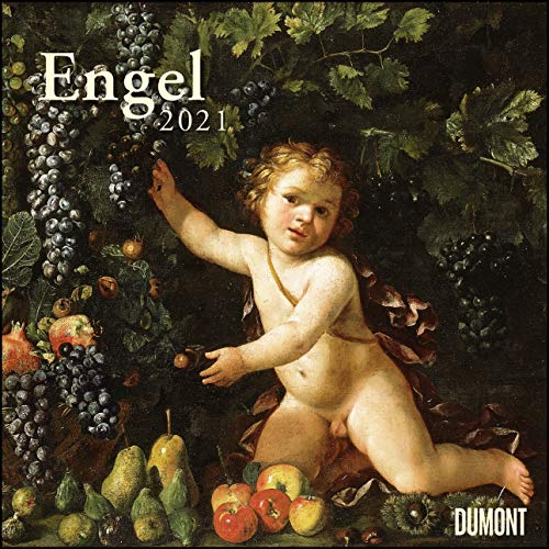 Engel 2021 - Broschürenkalender - Wandkalender - Format 30 x 30 cm