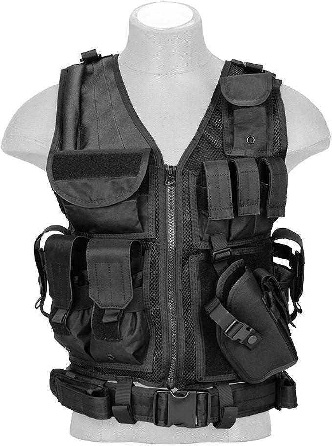 Lancer Tactical Cross Draw Tactical Vest