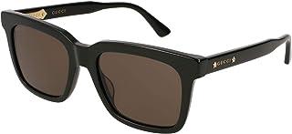 غوتشي نظارات شمسية وايفارير للنساء عدسة بنية، Gg0267S-006-53