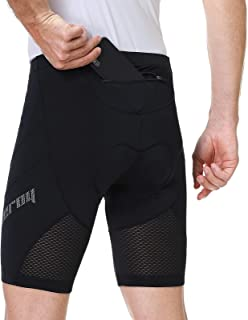beroy Men's Cycling Shorts with Upgrated 3D Padded,Breathable Bicycle Shorts Quick Dry Anti-Slip Design