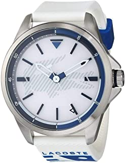 Lacoste Mens Quartz Watch, Analog Display and Silicone Strap 2010942