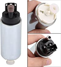 Qiilu 255LPH Universal Electric in-Tank Fuel Pump with Installation Kit GSS342 High Pressure in-Tank Fuel Pump