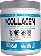 Flexatarian Hydrolyzed Collagen Peptides-Unflavored 44 Servings, 1.1 Pound