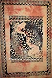 Traditional Jaipur Mermaid Wall Art Poster, Baumwolle Wand