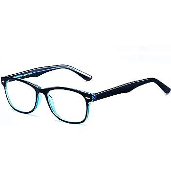 Ramlinku ブルーライトカットメガネ PCメガネ パソコン ブルーライト メガネ 軽量/伊達眼鏡 HEVカット率最大90% /UVカット率最大99% /男女兼用